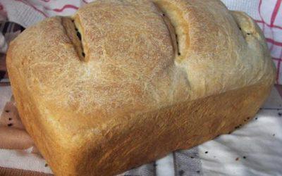 Χειροποίητο ψωμί ντίνκελ